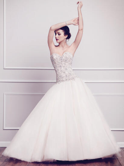 kenneth winston ballgown
